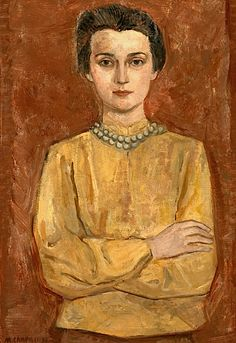 MASSIMO CAMPIGLI 1895 - 1971 PORTRAIT OF HOPE GERSON WEIL