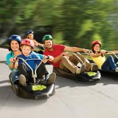Skyline Luge - One of the top attractions in Rotorua has to be the Luge. Even Vegas doesn't have a Luge!!