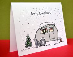 Canned Ham Christmas Card