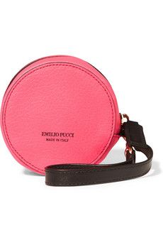 Emilio Pucci Leather pouch  | THE OUTNET