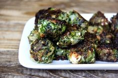 """Instead of tossing your leftover greens, turn them into """"meatballs"""""""