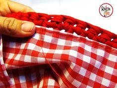Cómo hacer un Cesto de Trapillo en forma de Corazón!! Tutorial DIY paso a paso!
