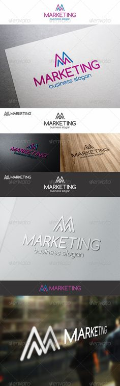 M Marketing Stats Logo – Is a logo that can be used in marketing and consulting companies, in companies that provide service statistics, polling firms ; This is a great logo for an internet marketing business, someone who deals with stats and analytics or forecasting. If you're in SEO , PPC or conversion analysis – then this is an ideal mark.