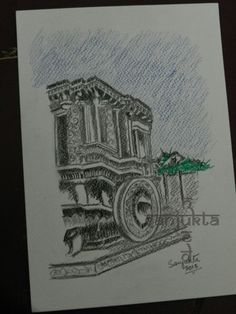 Stone Chariot. My rendition!