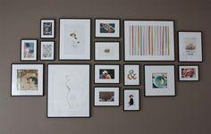 [Mon mur de cadres]   Harbor Park, Decoration Photo, Picture Frames, Picture Collages, Sweet Home, Images, Photo Walls, Gallery Walls, Pictures