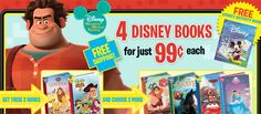 Build a magical library for your children - Join the Disney Book Club!  You'll get 4 books for just $3.98 + FREE shipping.  And, you'll get a FREE activity book for joining!  Join here ---> http://wp.me/p23QxW-3lO