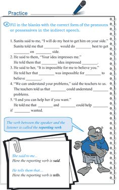 Grade 5 Grammar Lesson 14 Speech direct and indirect (4)