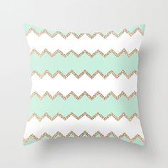 AVALON SEAGREEN Throw Pillow