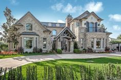 This stunning Brand-New French country estate built by Chateau Operating Corp. offers an ample 9,052 SF of living space, including 7 suites, 9 bathrooms, a theater, elevator, library, backyard pool and pool house and 4-car garage.