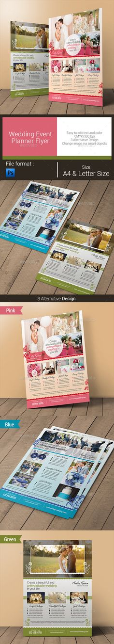 Wedding Event Planner Flyer - Corporate Flyers