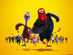 free birds movie characters