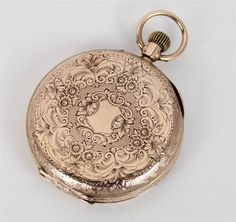 Rare Victorian 12ct Rose Gold Ladies Pocket Fob Watch - Fully Working