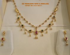 20 Irresistible Gold Layered Necklace Designs • South India Jewels