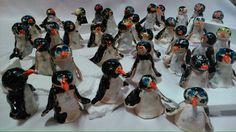 Tučňáci na ledovci. Práce předškoláků.