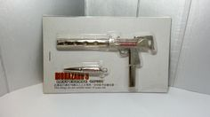 Rare Hong Kong Capcom Comic BIOHAZARD 3 Last Escape Promo MAC11 + Bullet (Silver) Metal Toy Resident Evil by mycoffeeboy