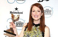 Julianne Moore, mejor actriz en los J.K. Simmons, mejor actor de reparto por 'Whiplash' 'Premios Independent Spirit