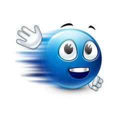 Speedy Emoji Smileys, Emoticons, Blue Emoji, Emoji Love, Heart Smiley, Laughing Images, Emoji Faces, Smiley Faces, Smiley Emoji