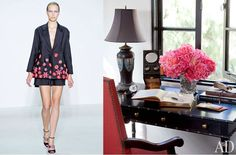 Christian Dior Spring 2013 RTW and Architectural Digest StylePair at Fashion + Decor