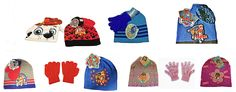 Don't Forget your Hat & Gloves........... We have your child's favorite characters to keep their hands & ears warm #PawPatrol #DocMcStuffins #FindingDory  #Amazon