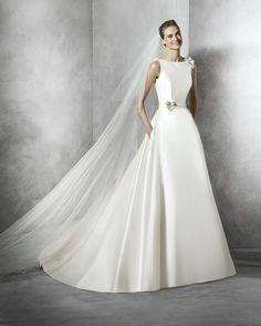 Pronovias Wedding Dresses - Style Telde [Telde] - $2,160.00 : Wedding Dresses, Bridesmaid Dresses, Prom Dresses and Bridal Dresses - Best Bridal Prices