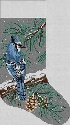 STELLER/'S BLUE JAY BIRD  HAND TOWEL SET CUSTOM EMBROIDERED