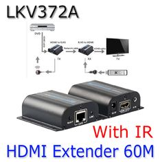 >> Click to Buy << LKV372A HDMI 1080P Extender With IR Converter Up to 60M,Video/Audio full HD Signal Extender Over Cat6/Cat7 For TV Projector #Affiliate
