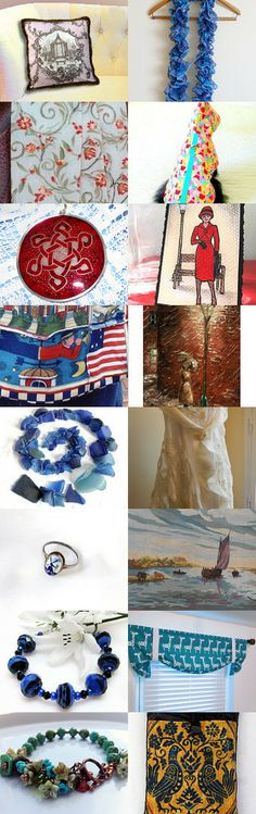 Bring the Thunder by Monique on Etsy #handmade #upcycled #décor #supplies #vintage #expats #jewelry