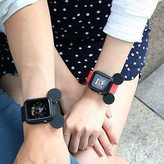 Possibly The Cutest Apple Watch Ever! Find out where to get yourself a Mickey Mouse Ears case for your #applewatch by visiting our website <3 ((Link in profile)) <3 ... ... Follow us for a possible feature!!! ... :heart_eyes: #iwatch #wearone #wearables #wearabletech #applewatchsport #applewatchedition #iwatches #disney #mickeymouse #mickeymouseears #minniemouse #adorable #cuteness #socute #iwantone #musthave #takemymoney #disneyfan #disneyland #loveit #instagood #instaneed #instacute