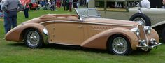 1938 Delahaye 135 MS Cabriolet by Chapron