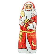 Lindt chocolate santa