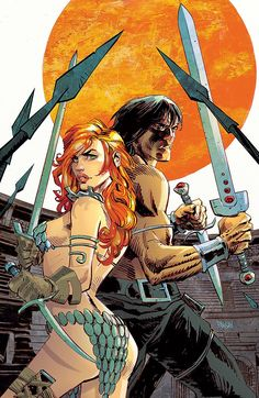 Dark Horse Cover of the Day: Conan Red Sonja #3