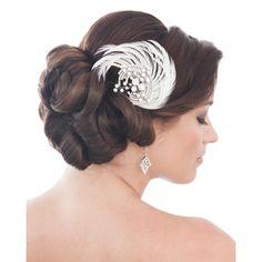 Swarovski Crystal Lana Bridal Clip - Bridal Jewellery - Crystal Bridal Accessories