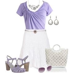 Lavender Fields, created by asigworth on Polyvore