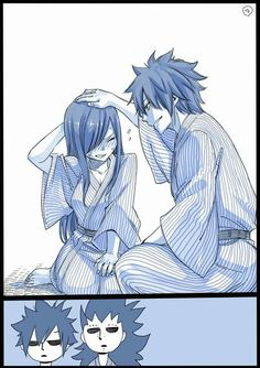 Read Jerza from the story Doujinshis - Fairy Tail by Trafalgar_D_Alaude with 448 reads. Fairy Tail Nalu, Fairy Tail Ships, Fairy Tail Amour, Fairy Tail Love, Fairytail, Erza Y Jellal, Gruvia, Fairy Tail Family, Fairy Tail Couples