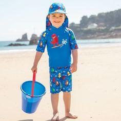 Swimwear Initiative Jojo Maman Bebe 1-2 Yr 12-18-24 Mth Swim Sun Protection Uv Suit Girl Pink Baby