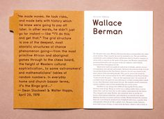 Books From The Future — Wallace Berman File Note – Helios Capdevila Page Layout Design, Web Design, Graphic Design Layouts, Graphic Design Inspiration, Print Design, Design Posters, Graphic Design Magazine, Magazine Layout Design, Magazine Layouts