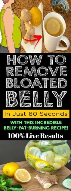 Bloated belly /Remove in 60min