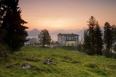 Das Hotel Villa Honegg ist ein einzigartiges 5-Sterne Superior Hotel im Herzen der Schweiz nahe Luzern in auf dem Bürgenstock.