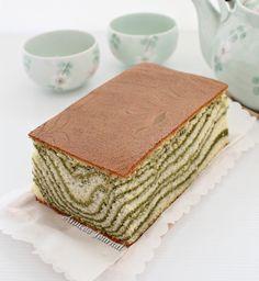 Matcha Castella Cake