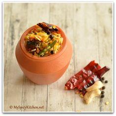 Homemade Pongal Mix ~ Khichdi Mix