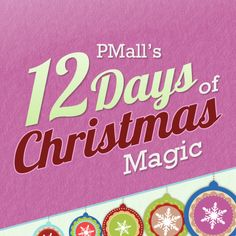 Each day from December 1st through 12th PMall will unveil a new ornament full of Christmas tips, gift ideas and exclusive coupon codes that will help make your Christmas magical.... this is so cute! You have to check out Day 1!