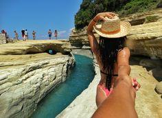 #Followmeto #Corfu #Island #beaches #canaldamour #travel #beautifuldestinations #trip #europe #CrisJourneys #TheRoadToSummer Corfu Island, Albania, Beaches, Journey, Europe, Travel, Style, Swag, Viajes