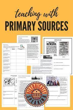 Loads of primary source products for the US History teacher.  Check out the Prove It! series.