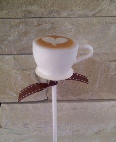 Cappuccino cakepops #cakepops #cappuccino