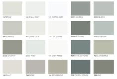 A Belgian style color palate.