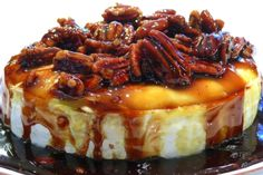 Baked Brie With Kahlua and Pecans