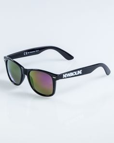 OKULARY CLASSIC BLACK FLASH VIOLET MIRROR 922   OKULARY Wayfarer, Sunglasses, Mirror, Classic, Black, Style, Derby, Swag, Black People