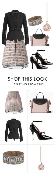 """""""Untitled #218"""" by jennfer-k ❤ liked on Polyvore featuring Giambattista Valli, Kate Spade, Donna Karan, RED Valentino, Calleen Cordero and Thomas Sabo"""