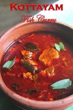 YUMMY TUMMY: Kottayam Style Fish Curry Recipe - Kerala Fish Curry Recipe - Nadan Meen Curry Recipe