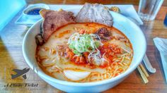 Tosh's Ramen was the perfect meal after a long day at Park City.  The Karaai ramen was piping hot and soothing.  It provided comfort from Salt Lake City's brutal winters. Find out more with our review loves.  Link in bio! #APlaneTicketAndReservations        #ToshsRamen #SaltLakeCity #Utah #ToLiveAndDineInSaltLakeCity #ToLiveAndDine #GrubLife  #Foodie #FoodPorn #Food #Instafood #FoodPhotography #Foodstagram #Foods #FoodBlogger #FoodPics #LoveFood #FoodPhoto #FoodArt #FoodDiary #FoodTrip…